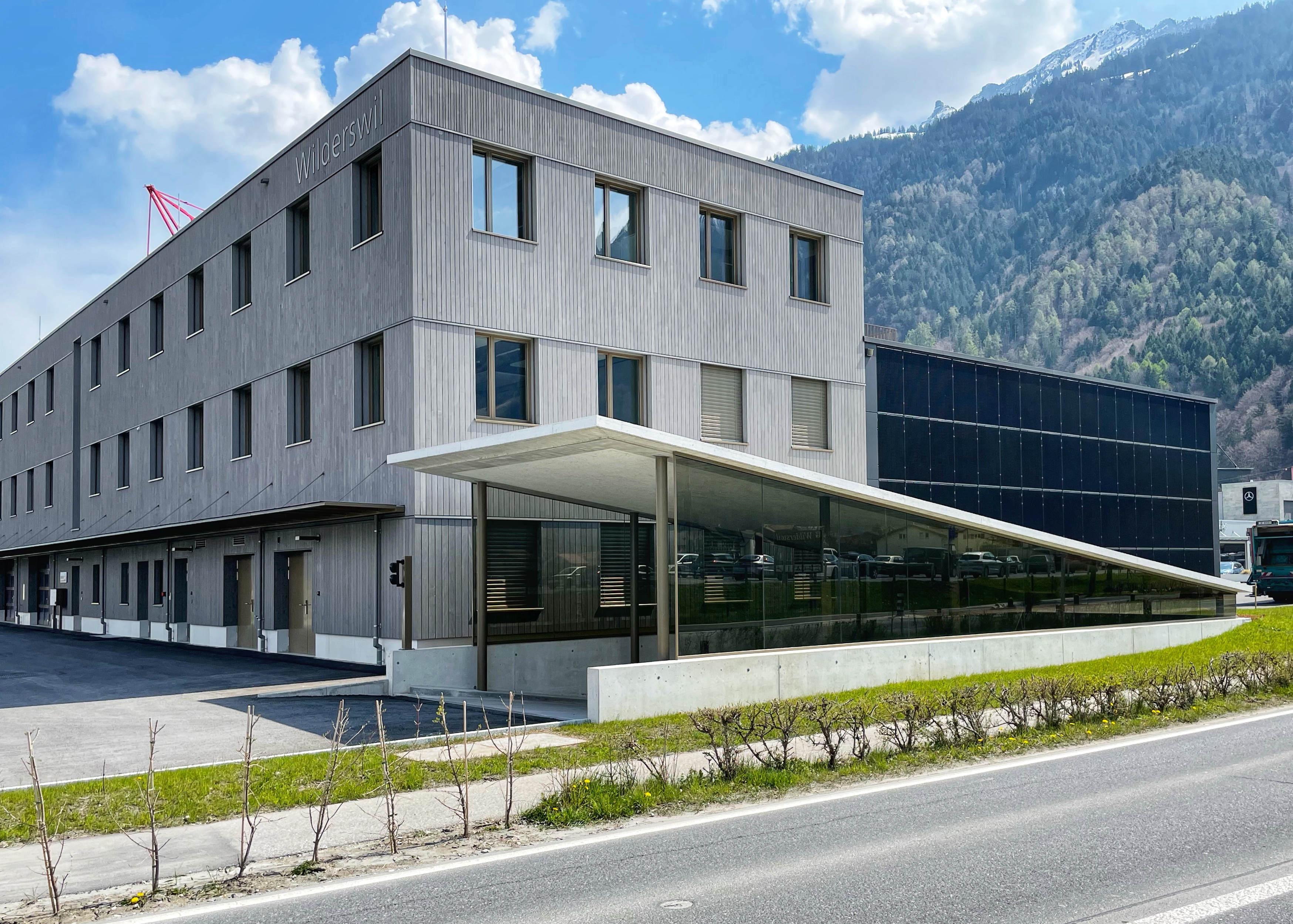 Referenzen - Verwaltungs- und Betriebsgebäude